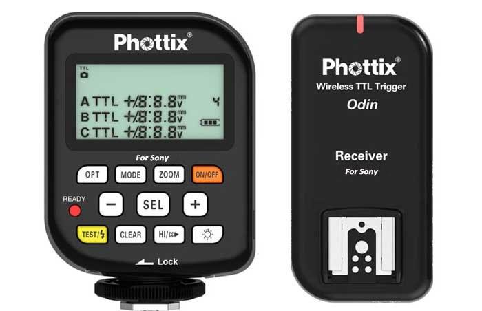 Phottix Odin TTL Canon Transmitter/Reciever 89050<br>