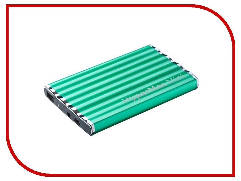 Аккумулятор Аккумулятор внешний HyperMac / HyperJuice Mini 7200mAh для iPhone / iPod / iPad Green