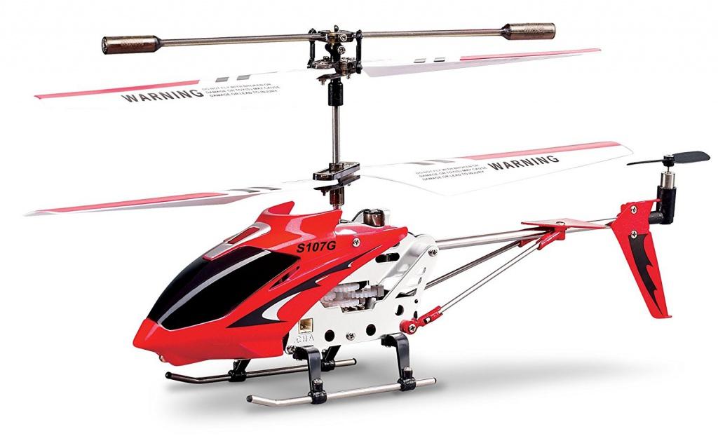 Вертолет Syma S-107G Red