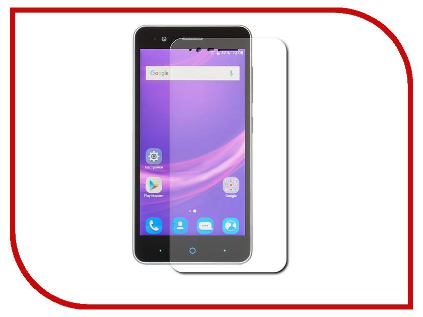 Аксессуар Защитное стекло ZTE Blade A510 LuxCase 0.33mm 82129 смартфон zte blade a510 серый bladea510grey sapphire