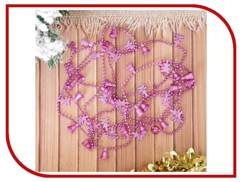 Украшение СИМА-ЛЕНД Бусы на елку Новогодний микс 270cm 2155371 когтеточка сима ленд столбик 30x30x40cm микс 1346433
