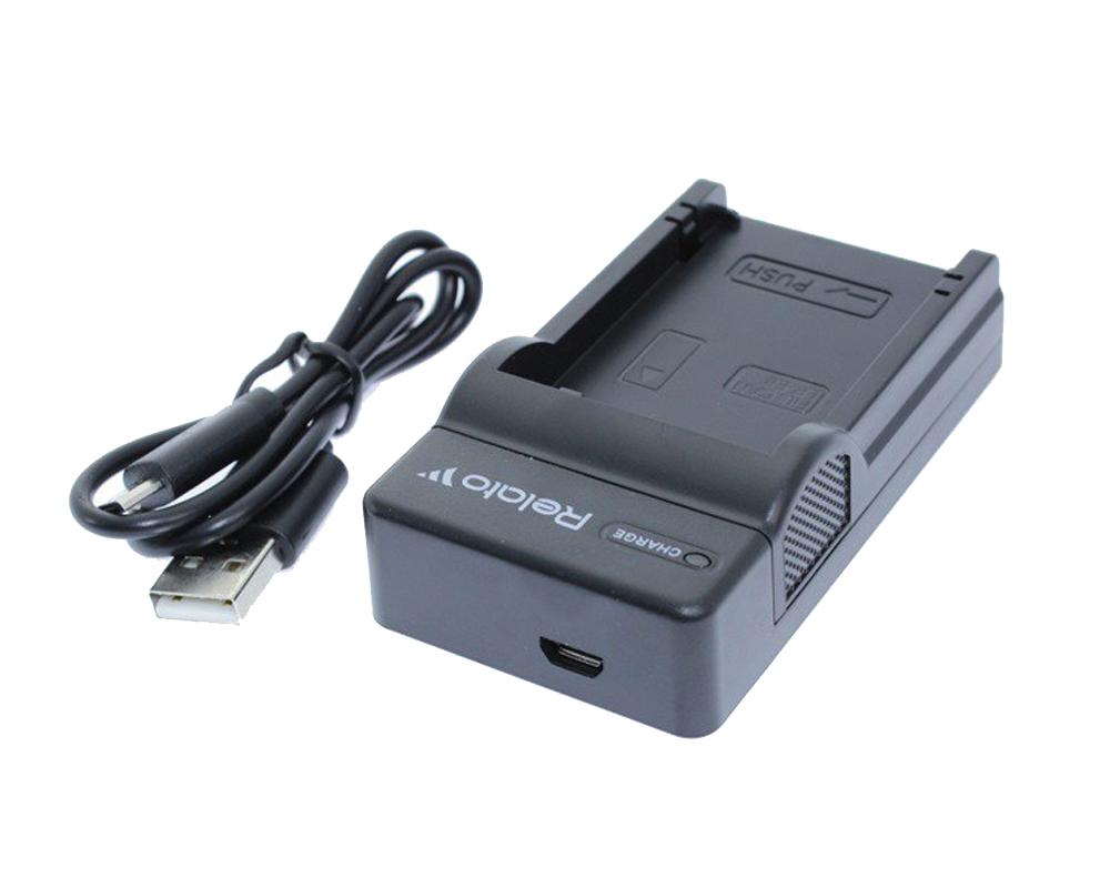 Зарядное устройство Relato CH-P1640U/BG1 для Sony NP-BG1/BD1/FT1/FR1/FE1
