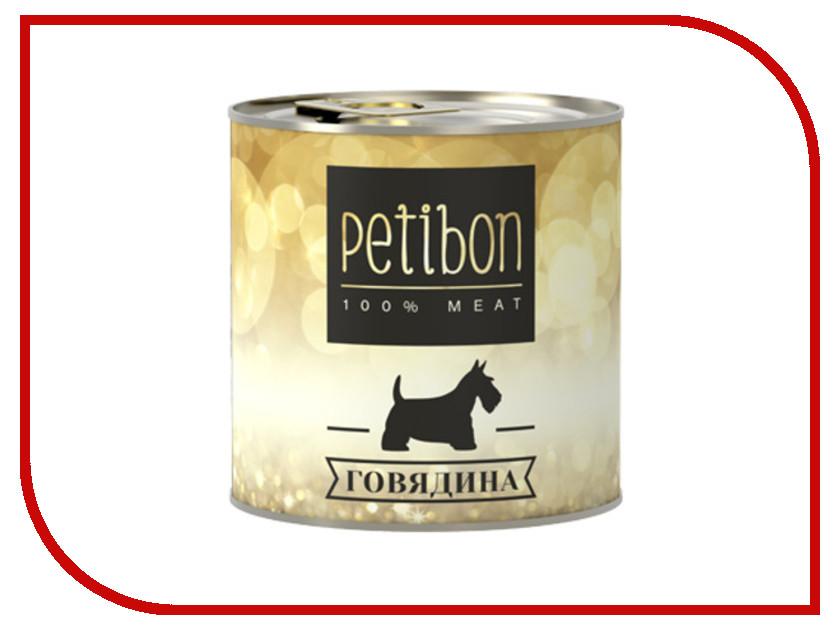 Корм Petibon 100% Meat Говядина в желе 240g для собак