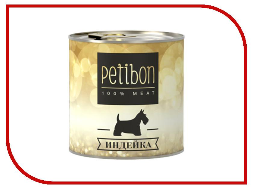 Корм Petibon 100% Meat Индейка в желе 240g для собак