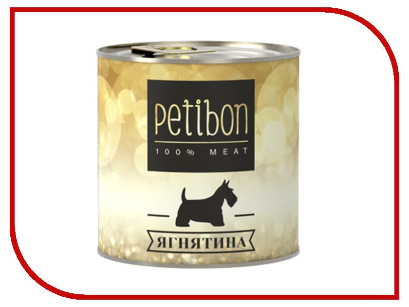 Корм Petibon 100% Meat Ягненок в желе 240g для собак