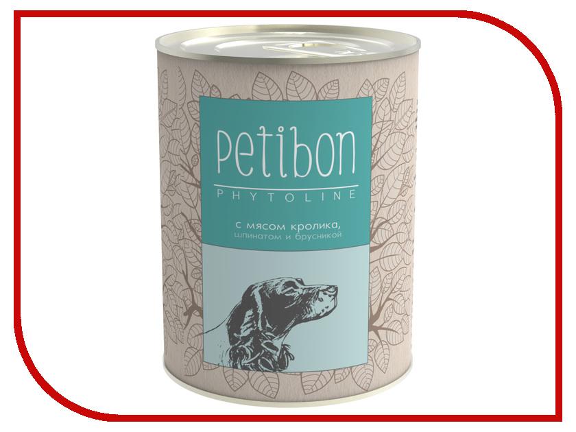 Корм Petibon Phytoline Мясо Кролика 340g для собак