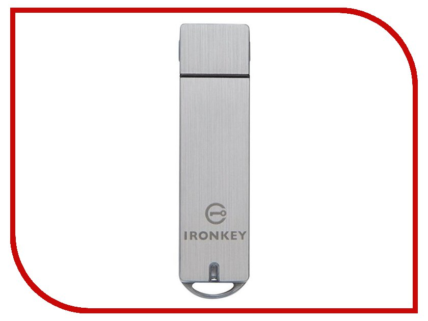 USB Flash Drive 32Gb - Kingston Ironkey Basic S1000 Encrypted USB 3.0 IKS1000B/32GB kingston hyperx savage usb 3 1 flash drive r w 350 250mb s 64 128 256 512gb