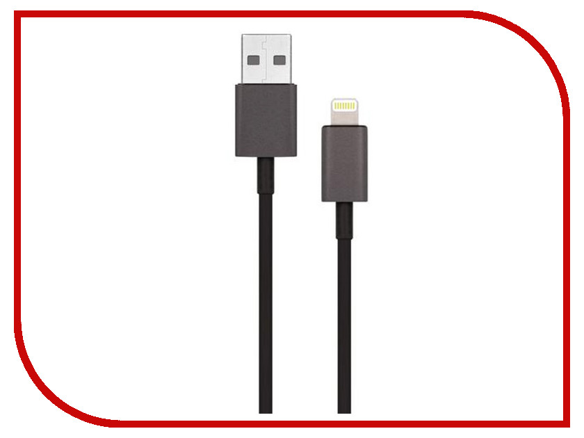 Аксессуар Гарнизон USB AM - Lightning 1.8m Black GCC-USB2-AP2-6