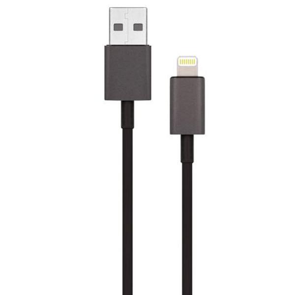 Фото - Аксессуар Гарнизон USB AM - Lightning 1.8m Black GCC-USB2-AP2-6 аксессуар гарнизон usb 2 0 am usb3 1 type c 0 5m gcc usb2 amcm 0 5m