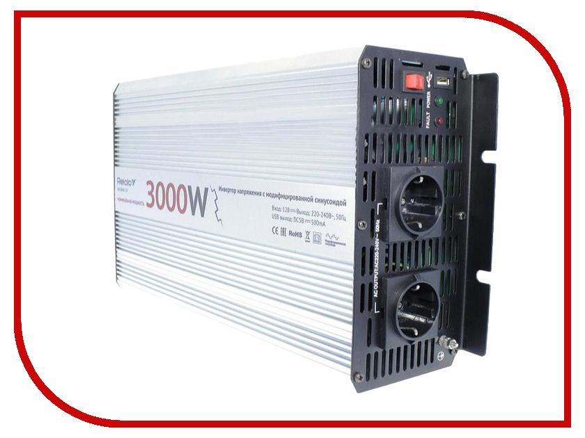 Автоинвертор Relato MS3000/12V (3000Вт) с 12В на 220В автоинвертор avs in 2210 220в на 12в a80980s