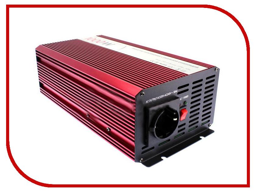 Автоинвертор Relato PS1000/12V (1000Вт) с 12В на 220В автоинвертор acmepower ap ps1000 12 1000вт преобразователь с 12в на 220в