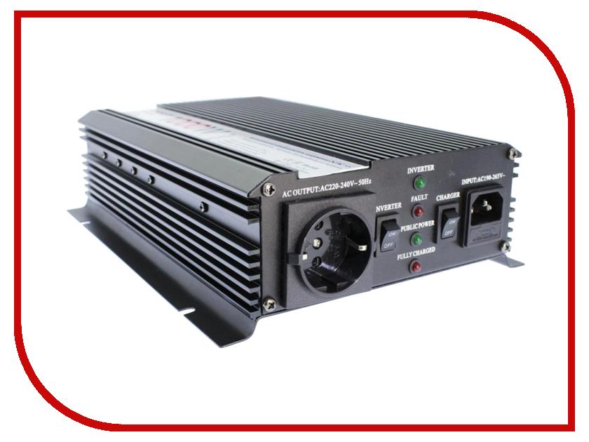 Автоинвертор Relato UMS1000/12V (1000Вт) с 12В на 220В автоинвертор acmepower ap ps1000 12 1000вт преобразователь с 12в на 220в