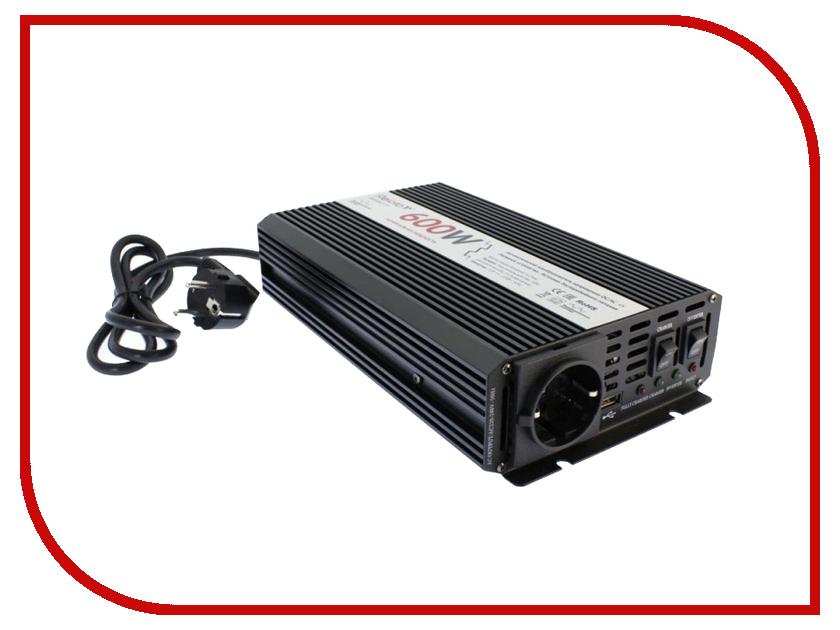 Автоинвертор Relato UMS600/12V (600Вт) с 12В на 220В