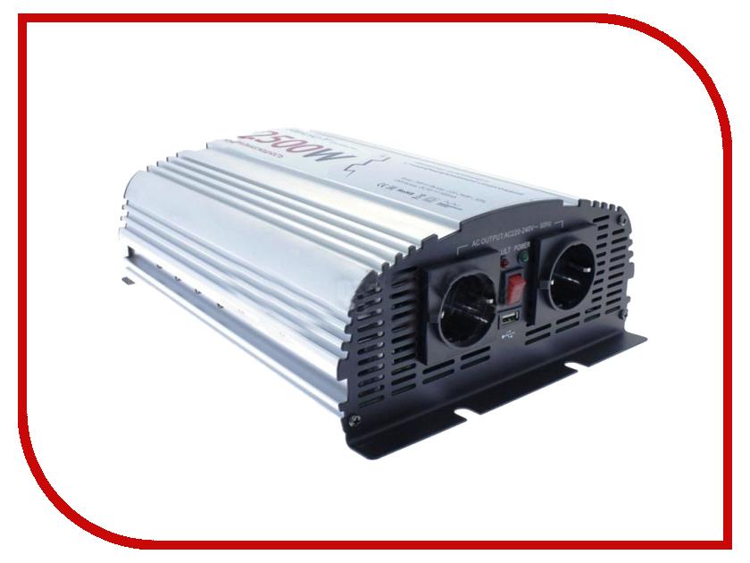 Автоинвертор Relato MS2500/12V (2500Вт) с 12В на 220В автоинвертор acmepower ap ds100 100вт преобразователь с 12в на 220в