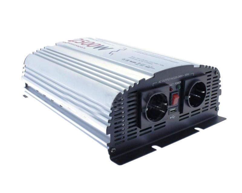 Автоинвертор Relato MS2500/12V (2500Вт) с 12В на 220В автоинвертор relato ps2000 12v 2000вт с 12в на 220в