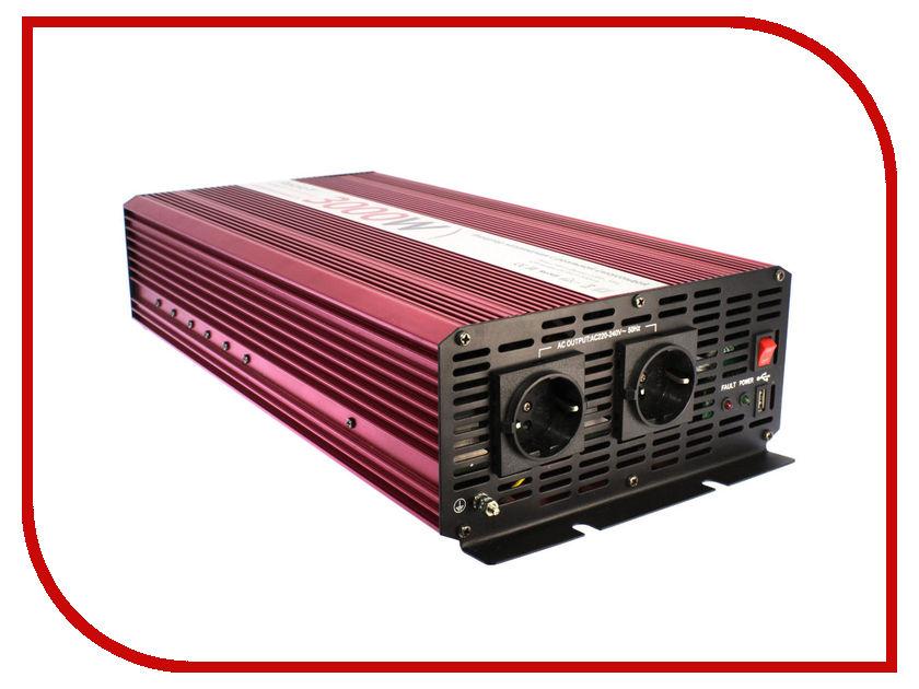 Автоинвертор Relato PS3000/12V (3000Вт) с 12В на 220В