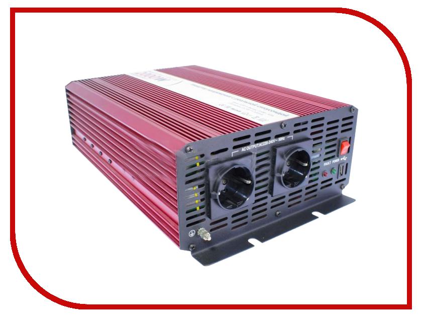 Автоинвертор Relato PS2000/12V (2000Вт) с 12В на 220В