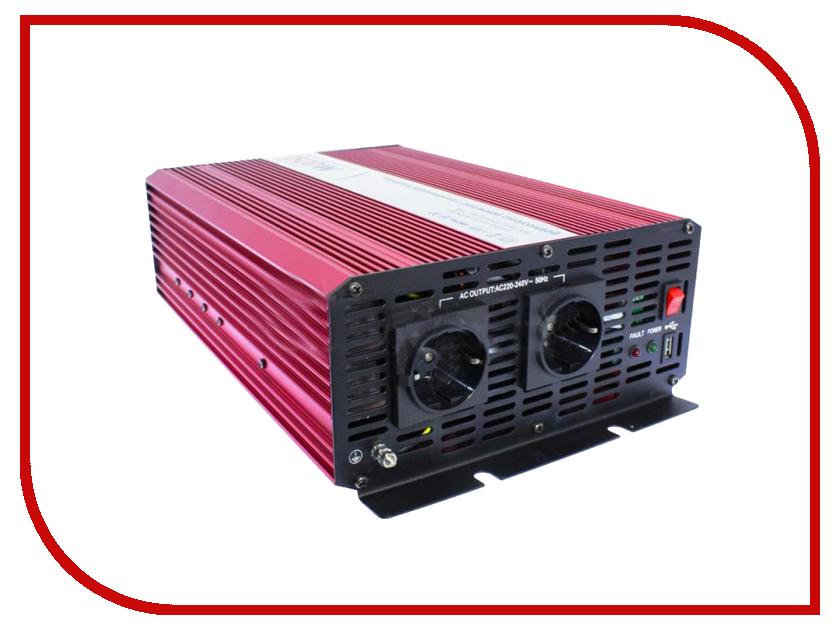 Автоинвертор Relato PS1500/12V (1500Вт) с 12В на 220В автоинвертор acmepower ap ds100 100вт преобразователь с 12в на 220в