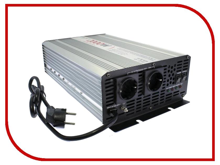 Автоинвертор Relato CPS2000/12V (1500Вт) с 12В на 220В