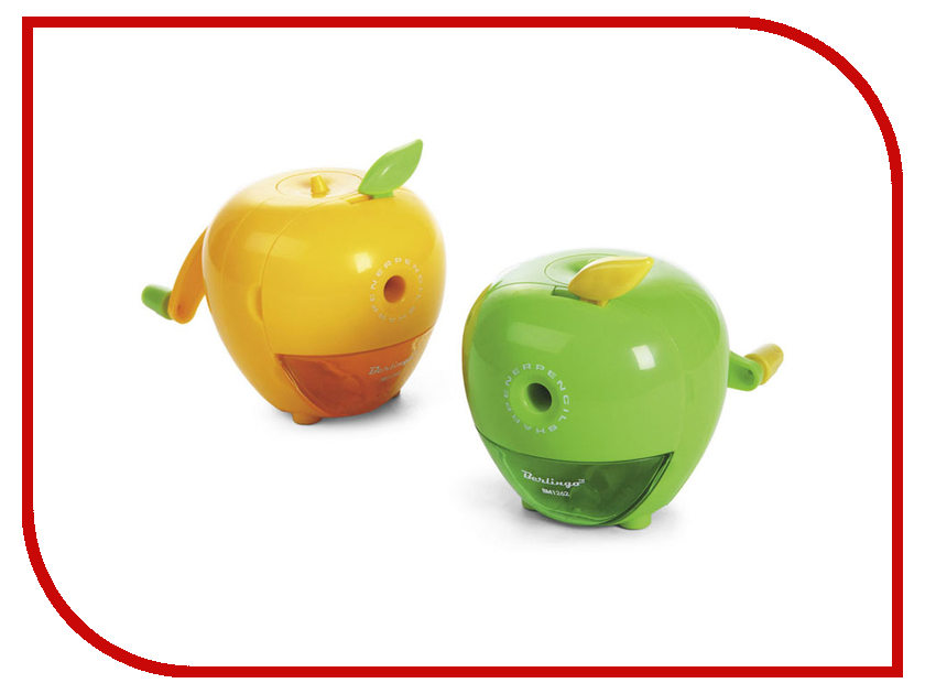 Точилка механическая Berlingo Яблоко BM1262 128835 berlingo точилка механическая яблоко