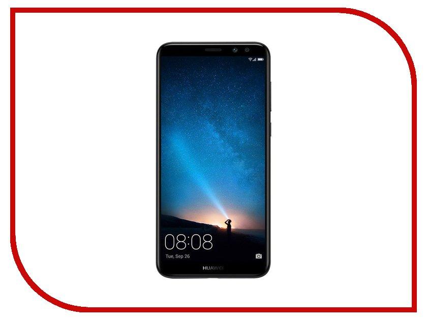 Сотовый телефон Huawei Nova 2i Black телефон huawei nova розовое золото