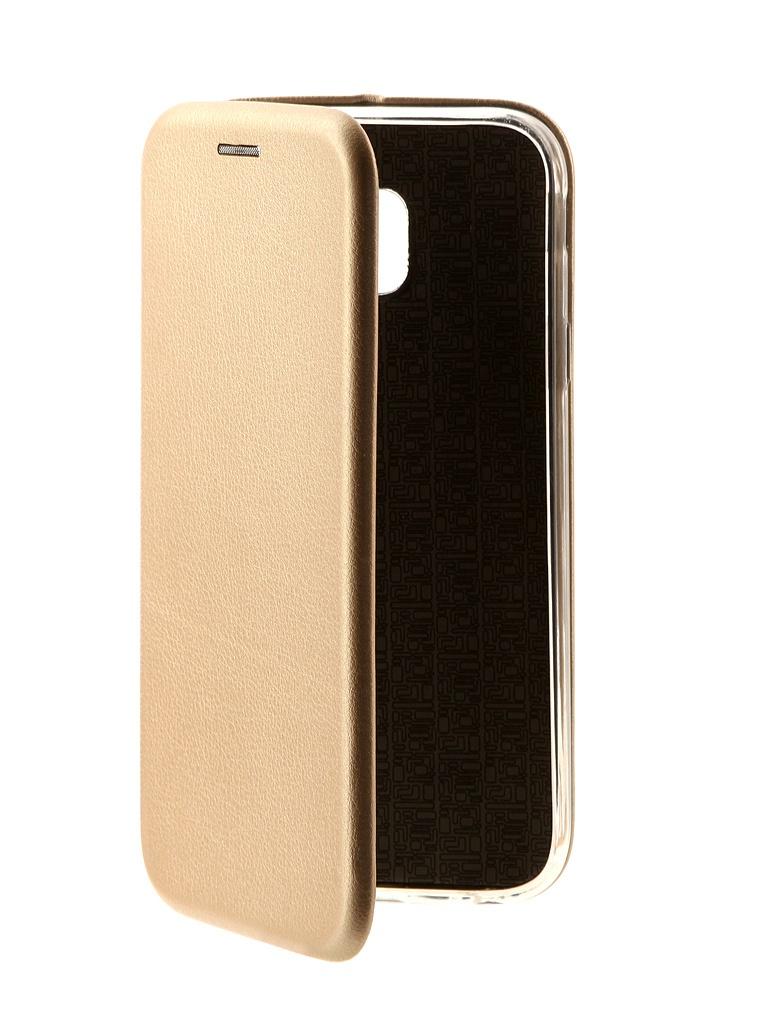 Аксессуар Чехол Neypo для Samsung Galaxy J3 2017 J330 Supreme Gold NSB3279 аксессуар чехол samsung galaxy j3 2017 j330 gurdini soft touch silicone black