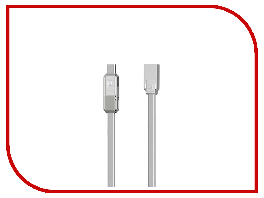 Аксессуар Remax RC-070th Gplex 3 in 1 MicroUSB / Lightning / Type-C Silver аксессуар remax ra otg type c silver