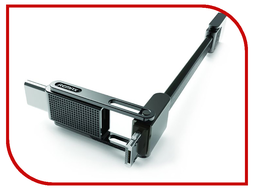 Аксессуар Remax RC-070th Gplex 3 in 1 MicroUSB / Lightning / Type-C Black аксессуар remax usb lightning shell rc 040i для iphone 6 6 plus 1m white 14323