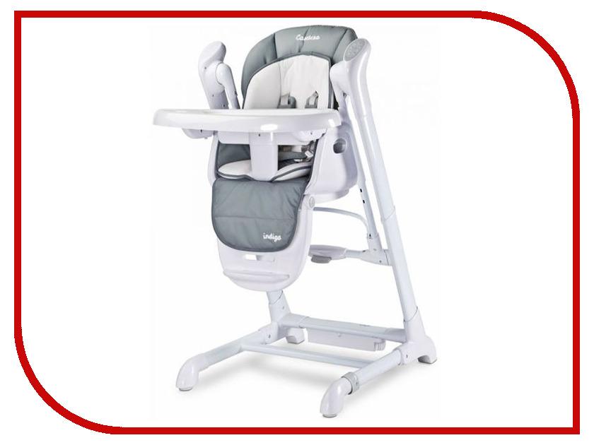 Стул Caretero Indigo Grey Tero-761 стульчик для кормления caretero pop green зеленый tero 7264