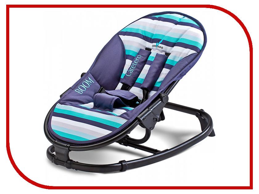 Кресло-шезлонг Caretero Boom Navy Tero-80603 стульчик для кормления caretero pop green зеленый tero 7264