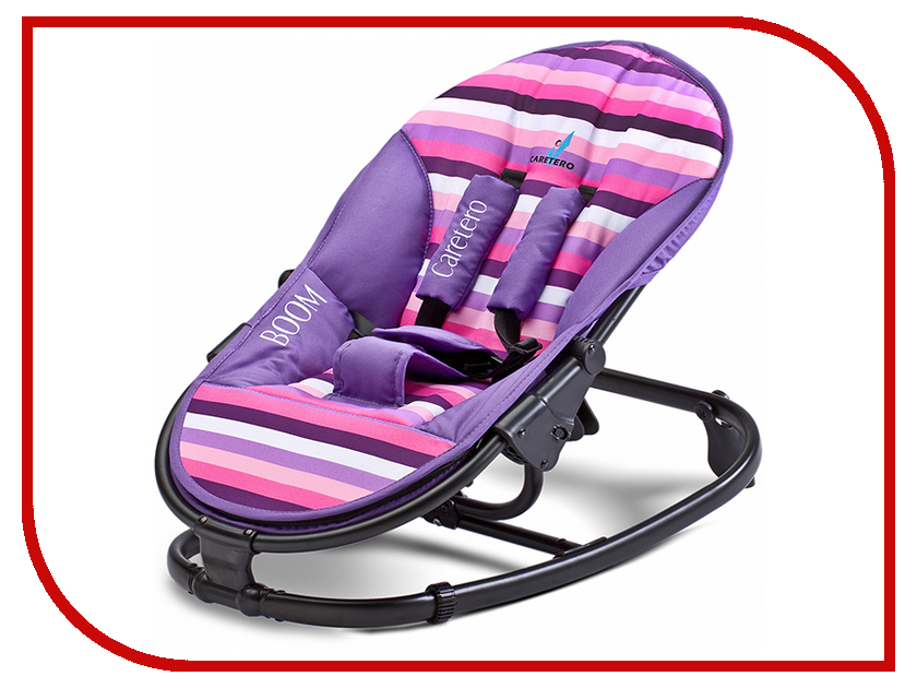 Кресло-шезлонг Caretero Boom Purple Tero-80604