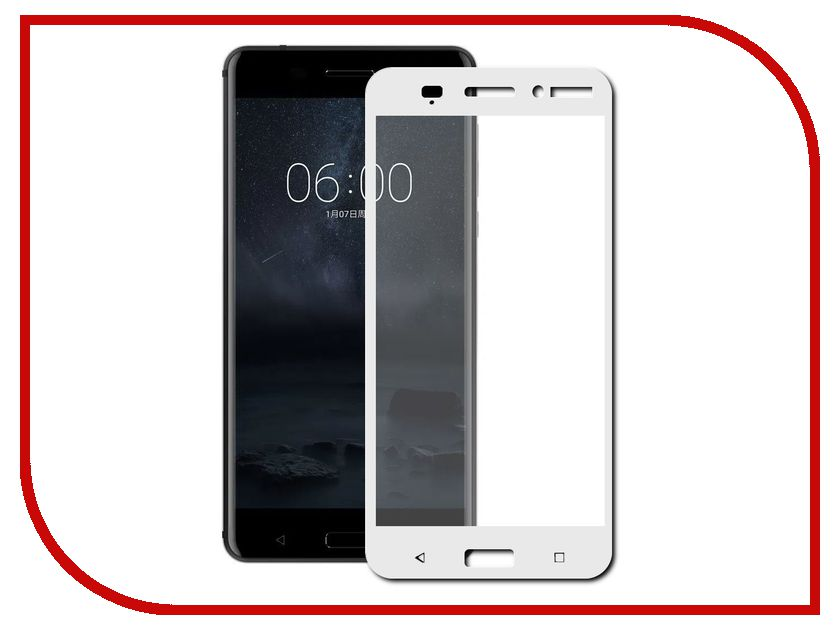 Аксессуар Защитное стекло Nokia 6 Neypo Full Screen Glass White Frame NFG3171 аксессуар защитное стекло xiaomi redmi 4x neypo full screen glass white frame nfg0034