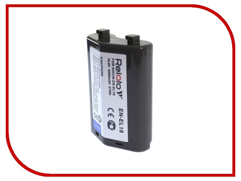 Аккумулятор Relato EN-EL18 для Nikon D4s/D5