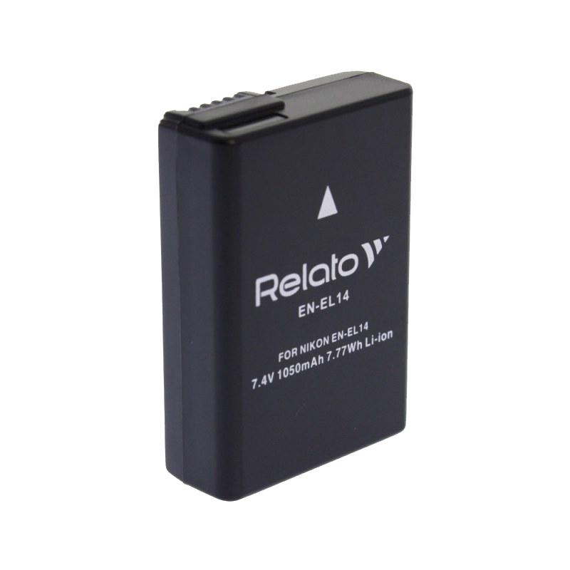 Аккумулятор Relato EN-EL14 для Nikon D3100/D3200/D5100/D5200/D5500 / CoolPix P7000/P7100/P7700/P7800 цена в Москве и Питере