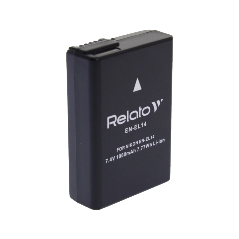 Аккумулятор Relato EN-EL14 для Nikon D3100/D3200/D5100/D5200/D5500 / CoolPix P7000/P7100/P7700/P7800