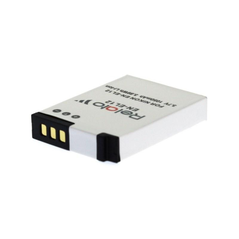 Аккумулятор Relato EN-EL12 для Nikon CoolPix A900/AW100/AW110/AW120/AW130/P300/P310/P330/P340/S1000pj/S1100pj/S1200pj/S31/S6000/S610/S610c/S6100/S6150/S620/S6200/S630/S6300/S640/S70/S710/S7000/S800c/S8000/S8100/S8200/S9000/S9100/S9200/S9300/S9400/S9500/S9600/S9700