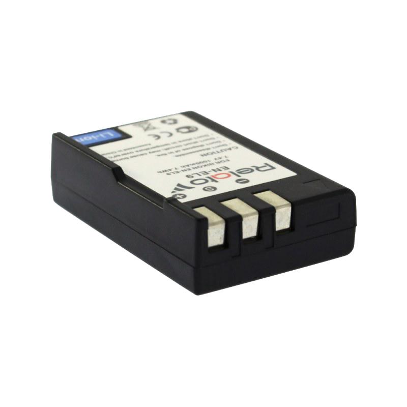 Аккумулятор Relato EN-EL9 для Nikon D40/D40x/D60/D3000/D5000