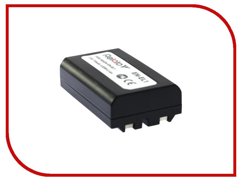 Аккумулятор Relato EN-EL1 для Nikon CP-4300/4500/4800/5000/5400/5700/8700/775/880/885/995 / Konica-Minolta A200