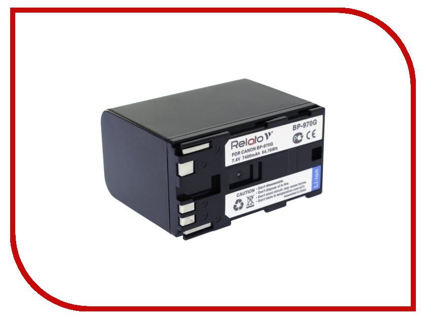 Аккумулятор Relato BP-970G для Canon XM-1/XL-1/XH-A1/XH-G1