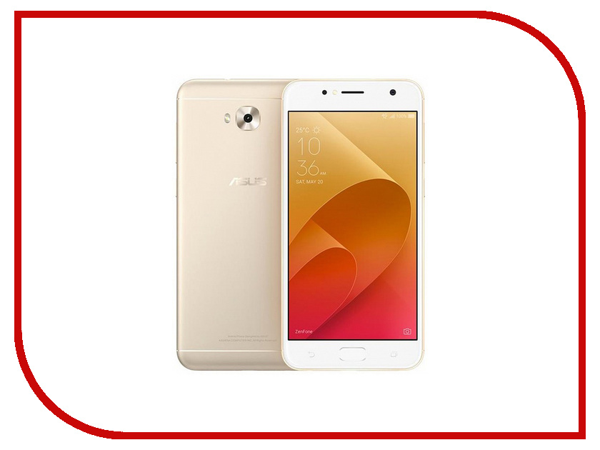 Сотовый телефон ASUS ZenFone 4 Selfie ZD553KL Gold защитная пленка asus zenfone selfie матовая