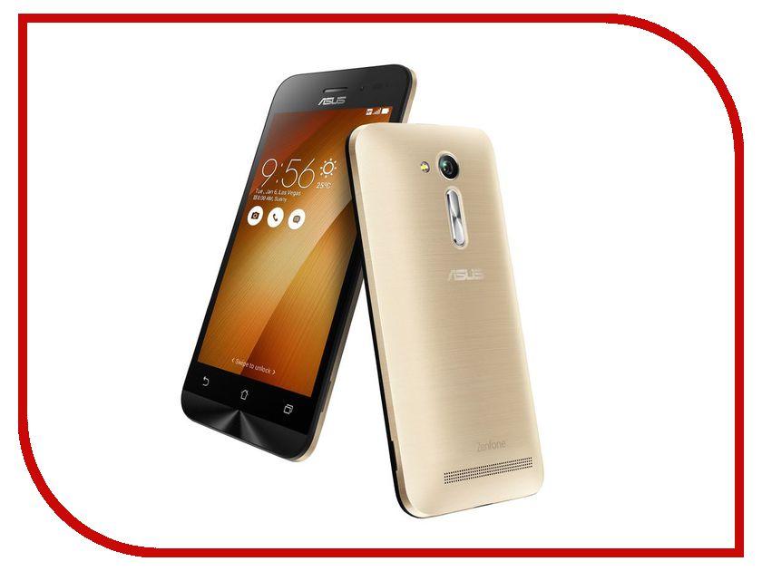 Сотовый телефон ASUS ZenFone Go ZB452KG Gold сотовый телефон asus zenfone go zb450kl 8gb yellow