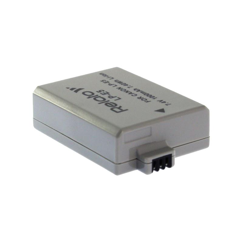 Аккумулятор Relato LP-E5 для Canon EOS 450D/500D/EOS 1000D / Rebel Xsi аккумулятор enkatsu cn lp e5