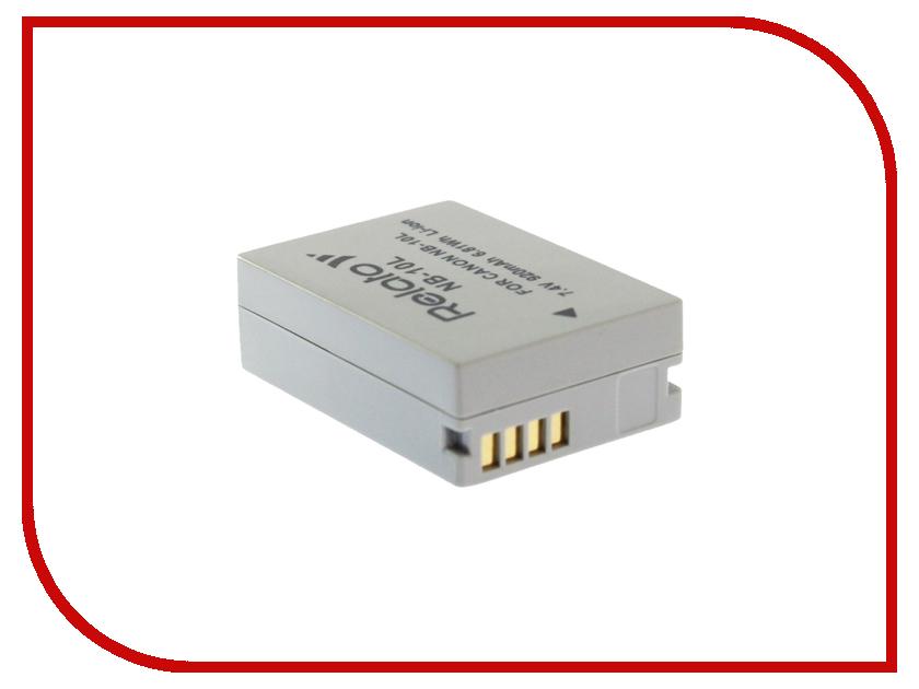 Аккумулятор Relato NB-10L для Canon PowerShot G1 X/G15/G16/G3 X/SX40/SX50 HS/SX60 HS