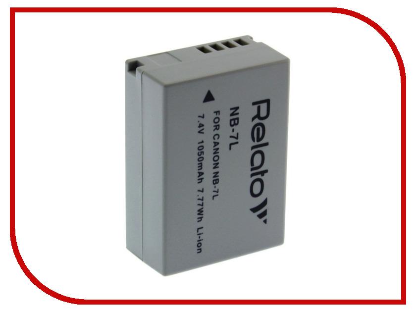 цены Аккумулятор Relato NB-7L для Canon G10/G11/G12/SX30 IS