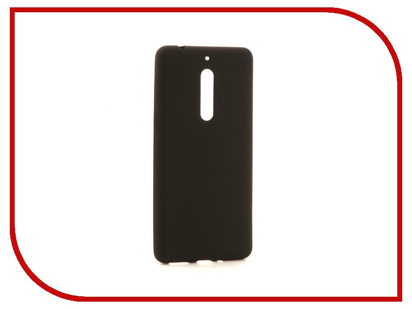 Аксессуар Чехол для Nokia 5 Neypo Neon Silicone Black NSTN3237 аксессуар чехол nokia 5 aksberry white