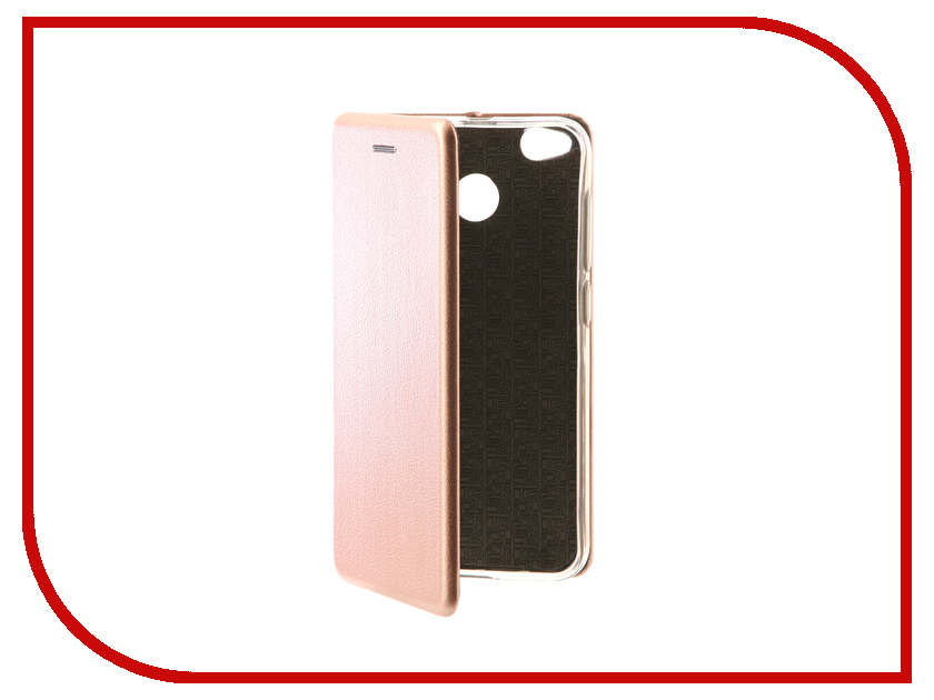Аксессуар Чехол-книга для Xiaomi Redmi Note 4X Innovation Book Pink Gold 10576 аксессуар чехол для huawei p smart 7s innovation silicone pink 12840