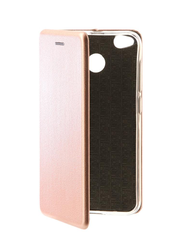 Аксессуар Чехол-книга Innovation для Xiaomi Redmi Note 4X Book Pink Gold 10576 redmi 4x 16gb gold