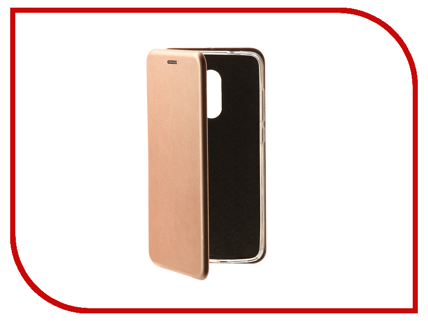 Аксессуар Чехолкнига Xiaomi Redmi 4X Innovation Book Pink Gold 10573