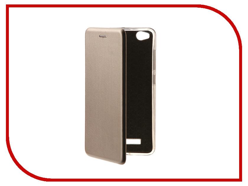 Аксессуар Чехол Xiaomi Redmi 4A Innovation Book Silver 10570 innovation