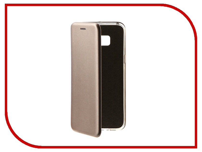 Аксессуар Чехол Samsung Galaxy S8 Plus Innovation Book Silver 10542 оригинальный samsung galaxy s8 s8 plus nillkin 3d ap pro полноэкранный экранный протектор экрана